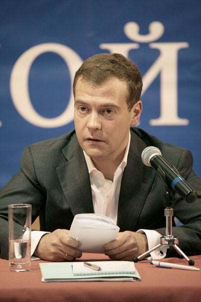 Президента России Медведева ждут в Ступино?