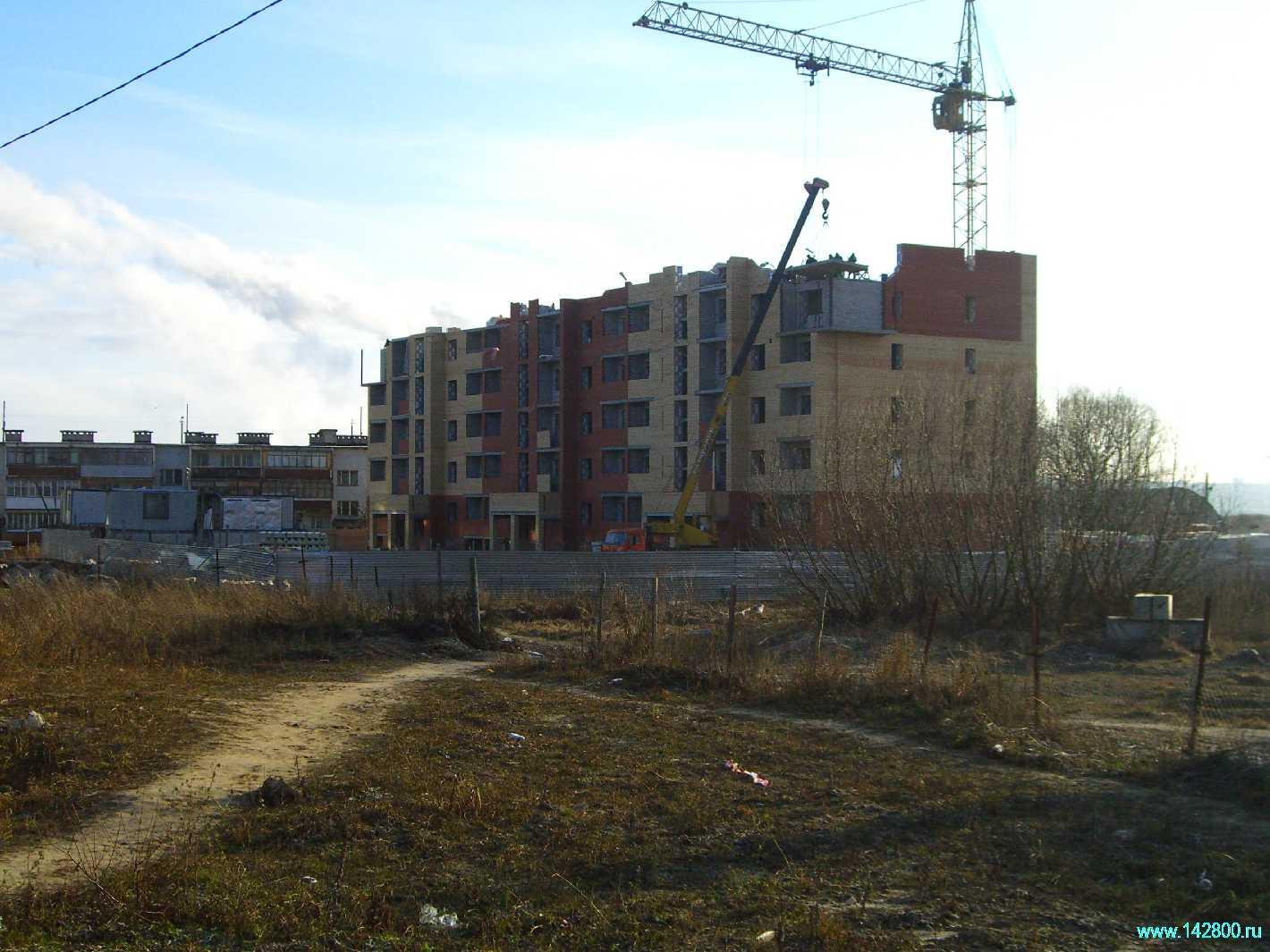 Строительство дома в селе Городище